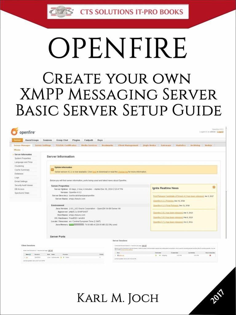E-Book: Openfire – Create your own XMPP Messaging Server